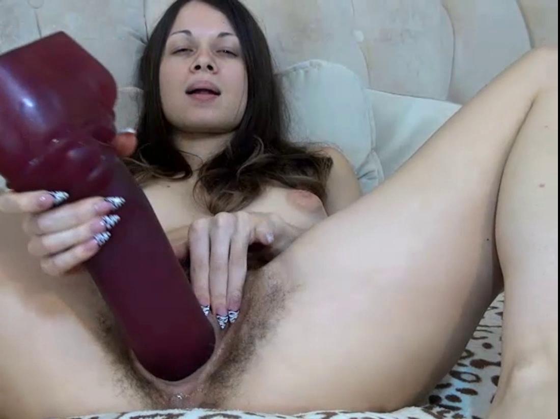 Ela sabe o que quer dentro da cona