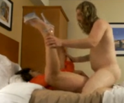 Gordinha contrata prostituto para foder